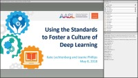 Using the Standards to Foster a Culture of Deep Learning