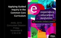 Applying Guided Inquiry in the Common Core Curriculum