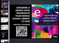 Designing a Genius Hour Program in Your Middle School Library