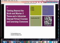 Getting Beyond the Brick and Mortar: 3 Teens and a Librarian Discuss Virtual Courses and Learning Commons