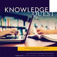 Volume 45, No. 2 - Copyright and School Libraries in the Digital Age