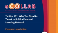 Twitter 101: Why You Need to Tweet to Build a Personal Learning Network
