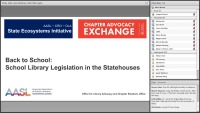 Back to School: School Library Legislation in the Statehouses